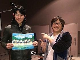 鈴木亮平と三木孝浩監督「くちびるに歌を」