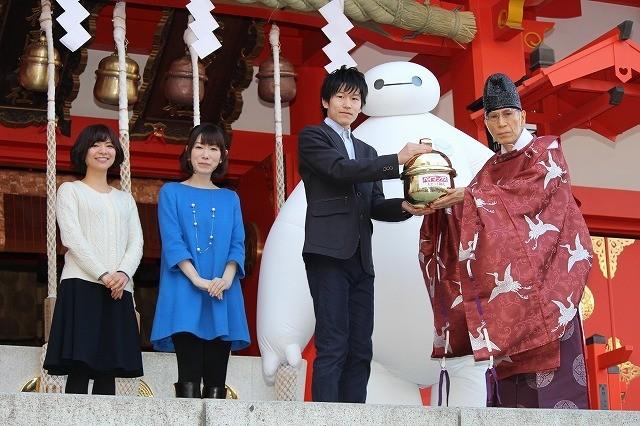 「ベイマックス」アカデミー賞受賞を祈願!日本では興収64億円突破