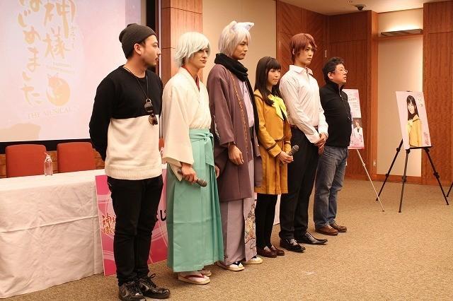 寺島咲、24歳で高校生役!ミュージカル「神様はじめました」に八神蓮とW主演 - 画像4