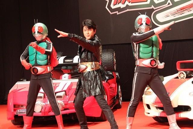 幻の「仮面ライダー3号」に及川光博 「夢がかなった」と歓喜
