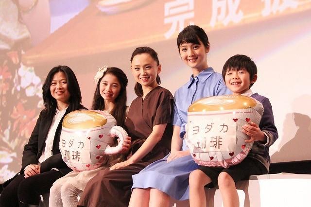 シングルマザー役初挑戦の佐々木希、永作博美に感謝「魔法の言葉をかけてくれた」