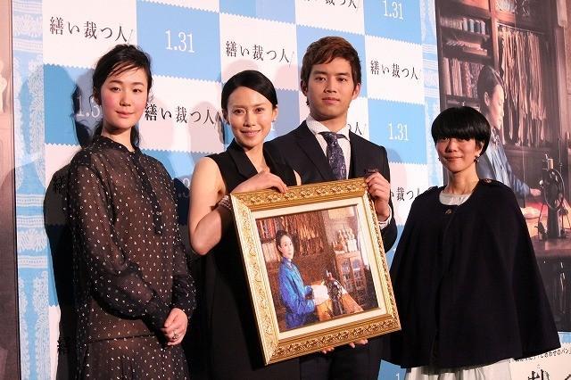 中谷美紀、三島有紀子監督と相思相愛 「恋愛結婚ができた幸せな作品」と信頼明かす