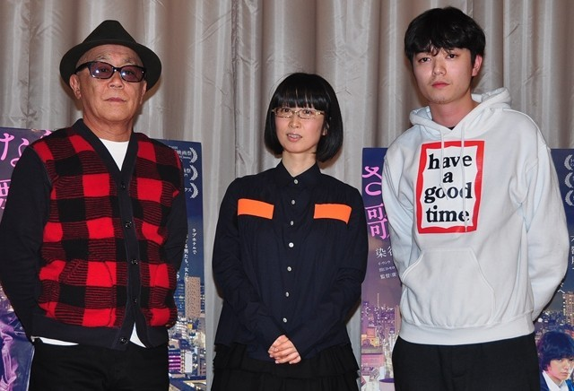 染谷将太も飛び入り参加! つじあやの、廣木監督が「さよなら歌舞伎町」音楽トーク