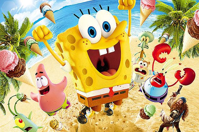 【全米映画ランキング】「スポンジ・ボブ 海のみんなが世界を救Woo(う~)!」がV。「ジュピター」は3位デビュー