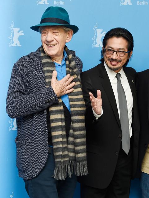 真田広之、イアン・マッケランとベルリン映画祭に出席