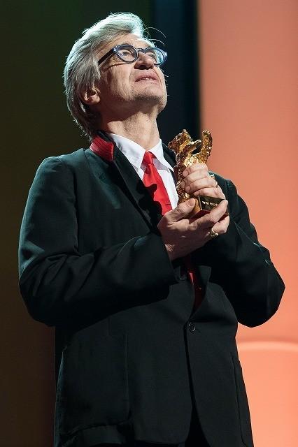 ベルリン国際映画祭、ビム・ベンダースに栄誉金熊賞授与
