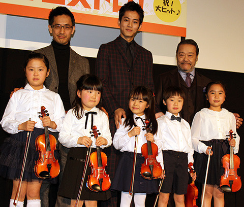 松坂桃李、ちびっ子のバイオリン演奏に自身の体験重ね「悪夢が浄化された」