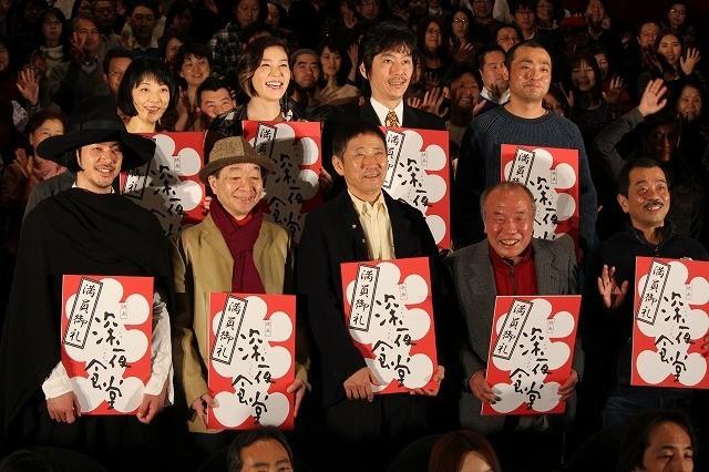 オダギリジョーの個性派衣装を「深夜食堂」松岡監督がツッコミ