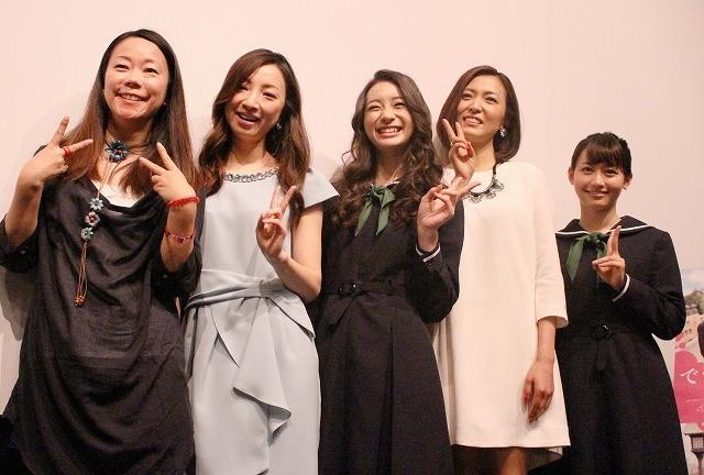 「でーれーガールズ」東京公開 足立梨花らが岡山ロケの思い出語る