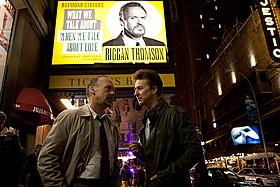 落ち目となった俳優が、再起をかけブロードウェイの舞台に挑む姿を描く「バードマン あるいは(無知がもたらす予期せぬ奇跡)」