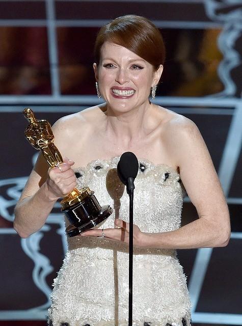 【第87回アカデミー賞】ジュリアン・ムーアが主演女優賞 若年性アルツハイマーの主人公演じる