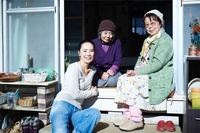 9年ぶり映画出演の市原悦子、河瀬直美監督「あん」で樹木希林と初共演