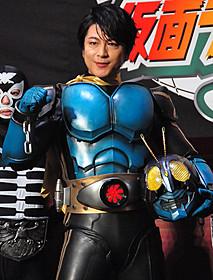 仮面ライダー3号のスーツで登場した及川光博「スーパーヒーロー大戦GP 仮面ライダー3号」
