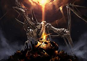 「ケイオスドラゴン 赤竜戦役」プロジェクトビジュアル「レッド・ドラゴン」