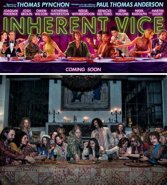 「インヒアレント・ヴァイス」、「最後の晩餐」をモチーフにしたキャラクタービジュアル&劇中写真公開