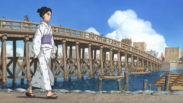 原恵一監督がアニメで描く江戸の街「百日紅」予告編公開 主演の杏は着物姿でアフレコに