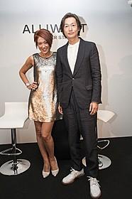 新メンズコスメブランド発表会に出席した 井浦新(右)とLiLiCo