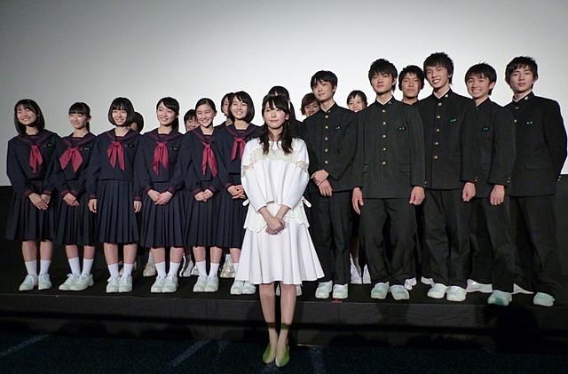 新垣結衣、長崎に凱旋!最後の「くちびるに歌を」舞台挨拶に登壇