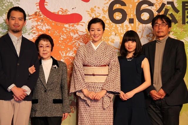 鈴木京香が7児の母を熱演
