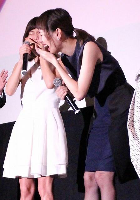 戸田恵梨香、大泉洋の顔がツボ! 笑い止まらず涙「見ないでくださいよ」 - 画像3