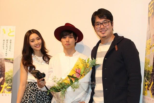 村上虹郎、堀江慶監督に8ミリカメラ贈られ感動も「ここでは泣けないです!」