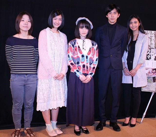 エビ中・小林歌穂、銀幕デビュー作で監督からの太鼓判に困惑顔