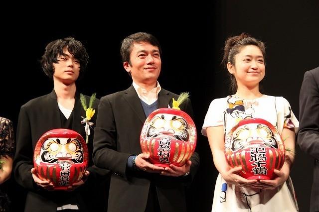 高崎映画祭授賞式は「そこのみにて光輝く」がけん引!綾野剛欠席も俳優部門受賞3人が盛り上げる