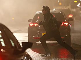 2月にロンドンで敢行された撮影現場でのトム・クルーズ「スター・ウォーズ」