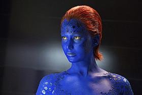 ミスティークを演じてきたジェニファー・ローレンス「X-MEN:ファースト・ジェネレーション」
