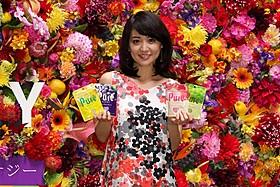 新CM発表会に出席した大島優子
