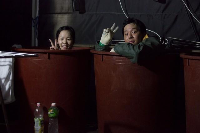 JYJユチョンのオフショット満載!「海にかかる霧」メイキング画像独占入手