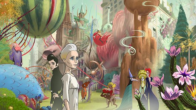 アリ・フォルマン監督がアニメと実写を交えて映画化したSF「コングレス未来学会議」予告