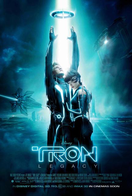 「トロン:レガシー」ポスター