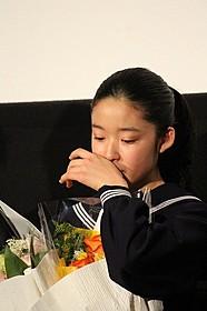 大粒の涙を流した藤野涼子「ソロモンの偽証 後篇・裁判」
