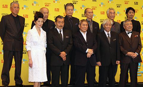 たけし「龍三と七人の子分たち」続編に意欲、タイトルは「龍三と七人の幽霊たち」