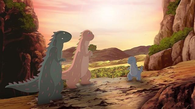 人気絵本を映画化 あなたをずっとあいしてる 恐竜の日 に予告編