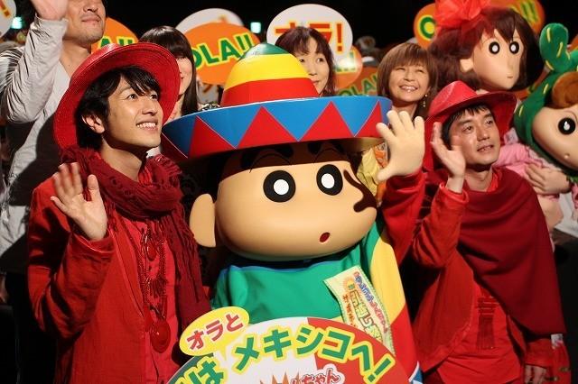「ゆず」、劇場版「クレヨンしんちゃん」主題歌熱唱で野原一家の引っ越し応援 - 画像3