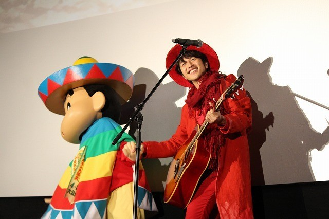 「ゆず」、劇場版「クレヨンしんちゃん」主題歌熱唱で野原一家の引っ越し応援 - 画像6
