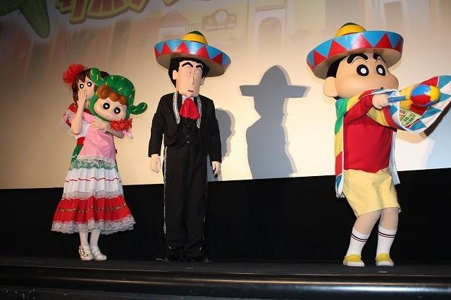 「ゆず」、劇場版「クレヨンしんちゃん」主題歌熱唱で野原一家の引っ越し応援 - 画像10