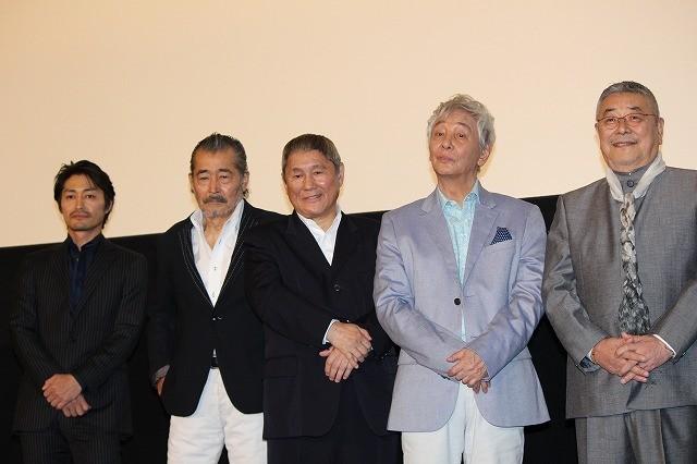 """北野武監督、演技派""""ジジイ""""たちに感謝「日本の役者はやっぱり上手い」"""