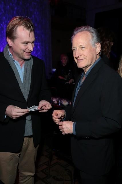 クリストファー・ノーラン(左)とマイケル・マン