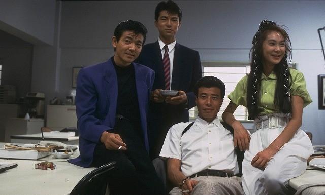1988年公開「またまたあぶない刑事」撮影当時の様子