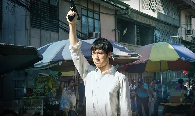 「劇場版MOZU」フィリピン・マニラで大規模アクション撮影敢行!