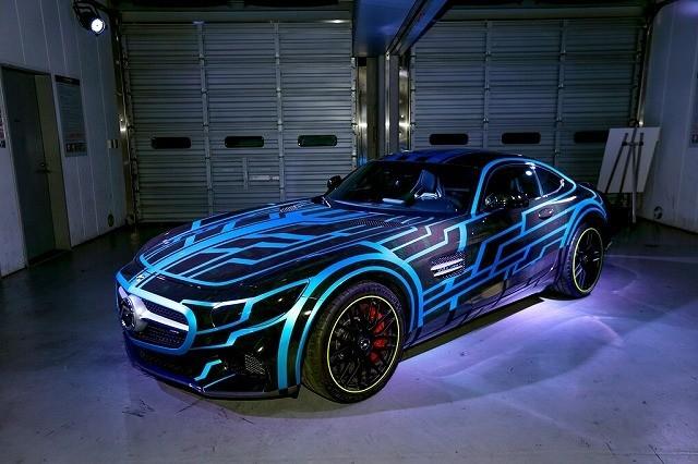 「仮面ライダードライブ」とメルセデス・ベンツがコラボ!AMG GTが劇中に登場