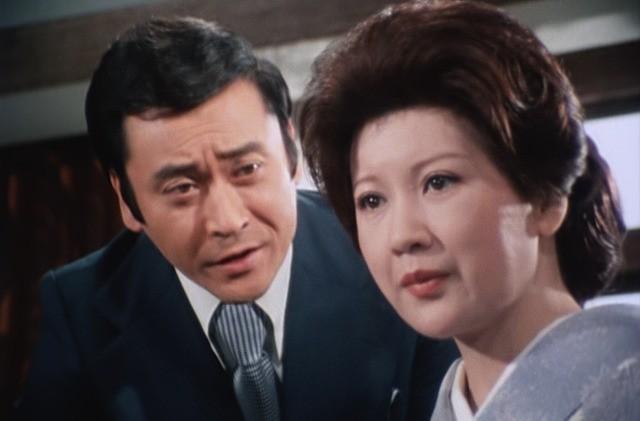 「氷柱の美女 江戸川乱歩の『吸血鬼』より」で 妖艶な未亡人を演じた三ツ矢歌子