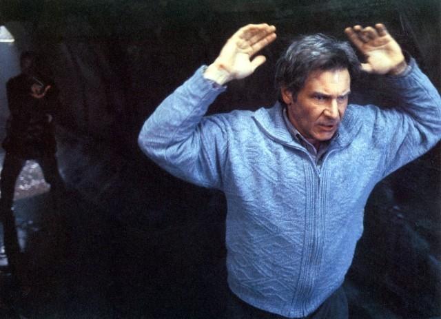 「逃亡者」(1993)の一場面