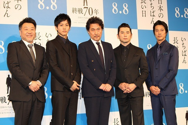 昭和天皇を演じきった本木雅弘、プレッシャー吐露も原田眞人監督から太鼓判