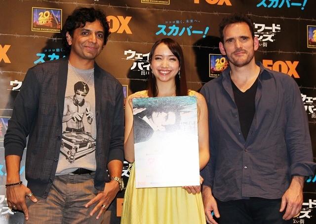 M・ナイト・シャマラン監督「日本は僕に影響を与えている」 M・ディロンと来日