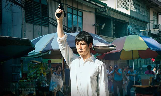 フィリピンロケが行われた「劇場版MOZU」