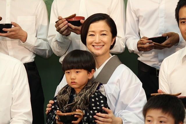 """鈴木京香、""""息子たち""""との再会に感激「ちょっと大きくなっている」"""